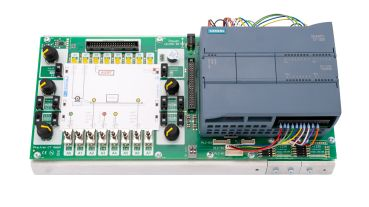 S7-1200-Trainingsboard, training system with exercises for Siemens S7-1200 (without S7-1200 Modul)