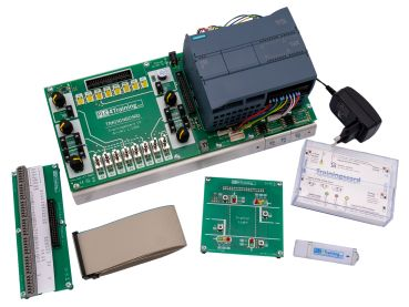 S7-1200-Trainingsboard SET, training system with exercises for Siemens S7-1200 (without S7-1200 Modul)