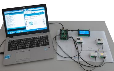 Lab4Arduino Advanced - training system for Arduino Nano