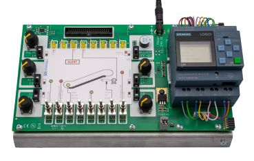 Logo8-Trainingsboard, PLC Trainer (without Logo! 8 12/24 RCE)