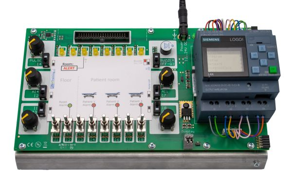Siemens Logo! 8 12/24 RCE - PLC Trainer: Training on a Logo8-Trainingsboard