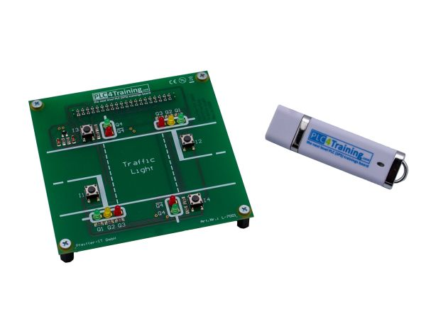 Controllino-Trainingsboard - SET, PLC Trainer for Controllino (without Controllino PLC)